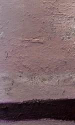 Öl und Pigment auf Leinwand 110 x 70 cm