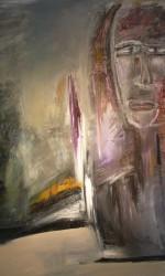Öl & Pigment auf Leinwand 180 x 200 cm