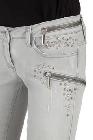 Jeans mit Swarovskisteine Gr.30